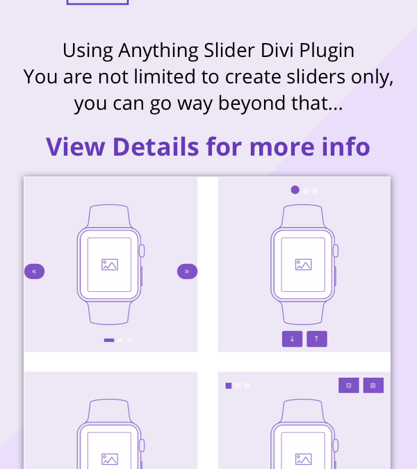 Anything Slider Divi Plugin
