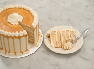 ButterBeer Cake, Recipe, Butterscotch sauce,