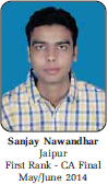 CA Final Toppers May 2014