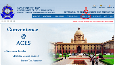 Service Tax CAknowledge.in