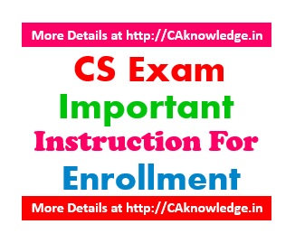 CS Exam Important Instructions for Exam Form June 2016