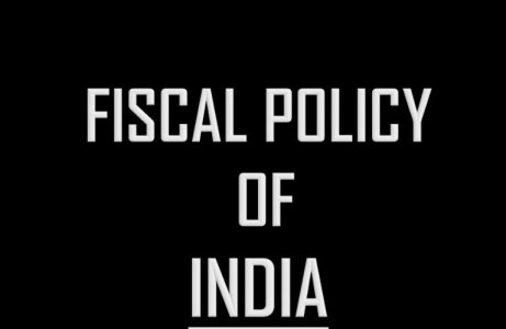 Fiscal Policy of India New