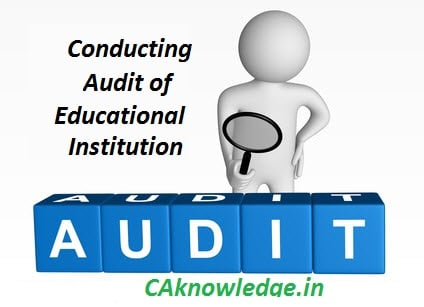 Conducting Audit of Educational Institution CAknowledge