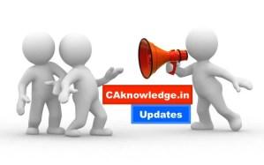 CAknowledge.in Updates