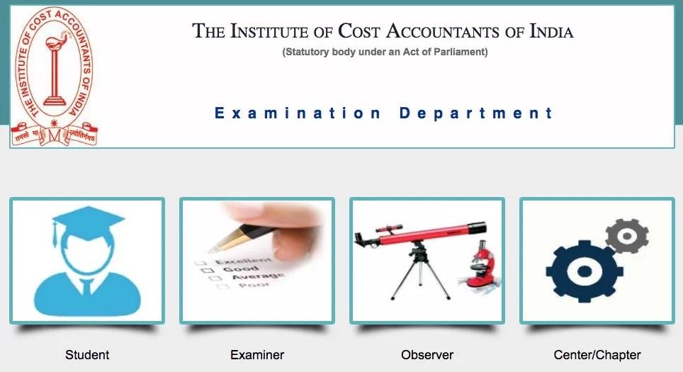 CMA Final Online Exam Form, CMA Inter Online Exam Form