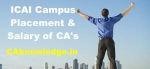 ICAI Campus Placement