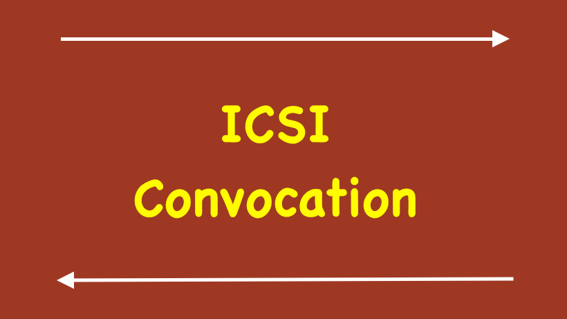 ICSI Convocation