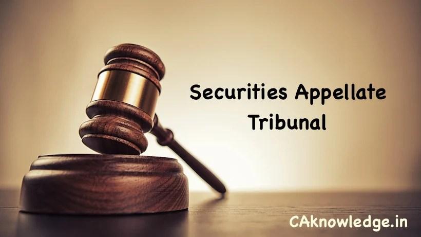Securities Appellate Tribunal