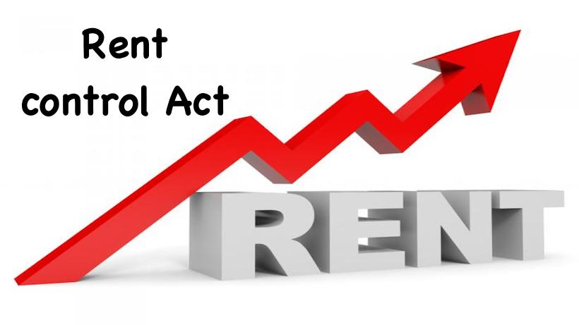 Rent control act