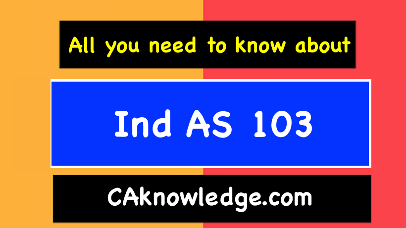 Ind AS 103