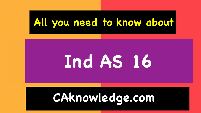 Ind AS 16