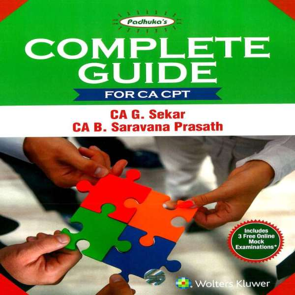 CA CPT Complete Guide by G Sekar, B Sarvana Prasath