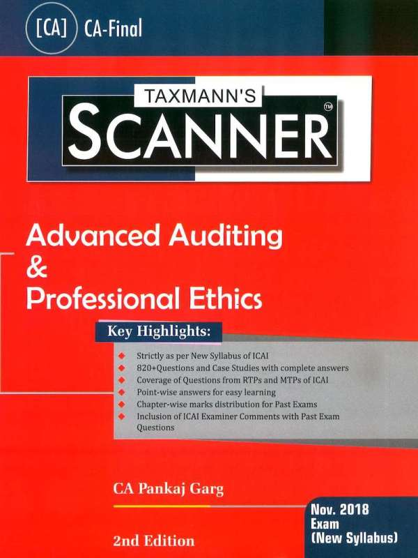 CA Final Audit Scanner by Pankaj new