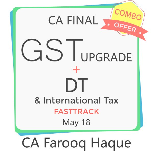 CA Final GST Upgrade