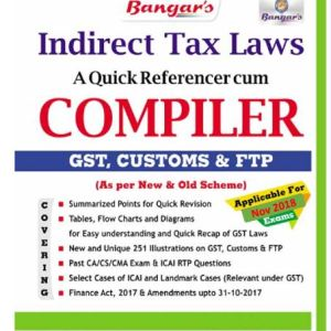 CA Final Indirect Tax Compiler by Yogendra Bangar nov