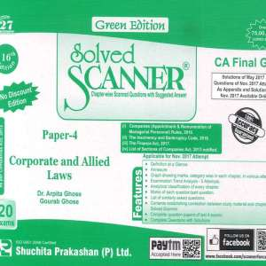 CA Final Law Scanner by Arpita Ghose