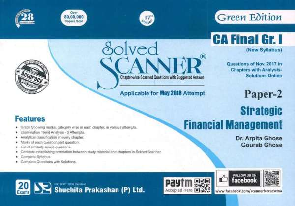 CA Final SFM Scanner by Arpita Ghose