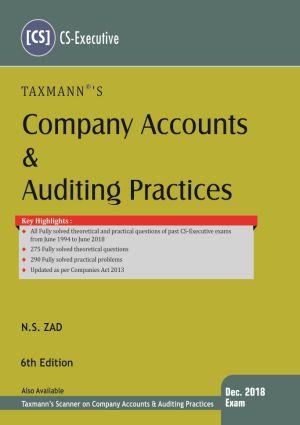 CS Executive Company Accounts NS ZAD