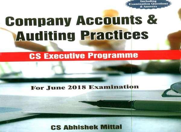 CS Executive Company Accounts and Auditing