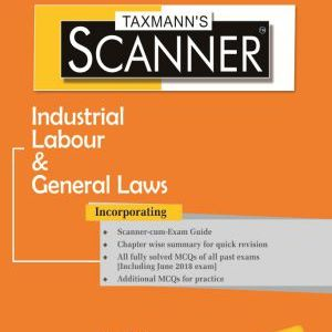 CS Executive Industrial Labour and General Law Scanner by NS Zad