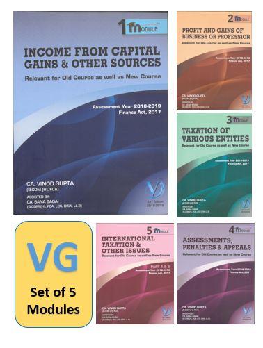 CA Final Direct Tax by Vinod Gupta