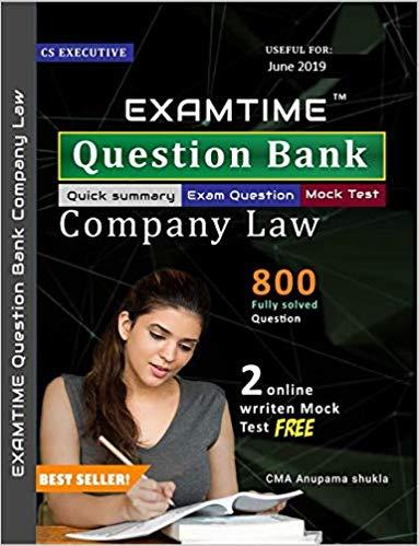 CS Executive Company Law Examtime Question Bank new
