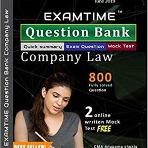 CS Executive Company Law Examtime Question Bank new