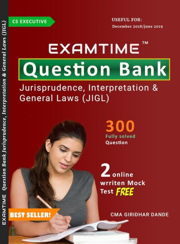 Cs Executive Examtime Question Bank JIGL