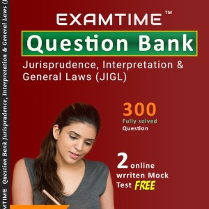 Cs Executive Examtime Question Bank JIGL