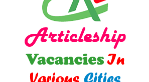 CA Articleship Vacancy In Various Cities CAknowledge.in
