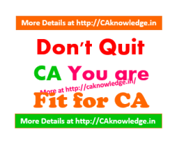 Don't Quite CA CAknowledge.in