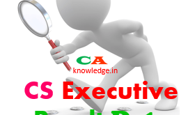 CS Executive Result Date