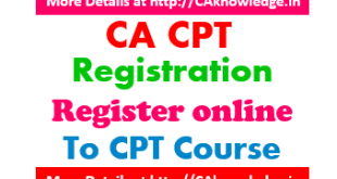 CA CPT Registration 2015 - Register online to CPT Course