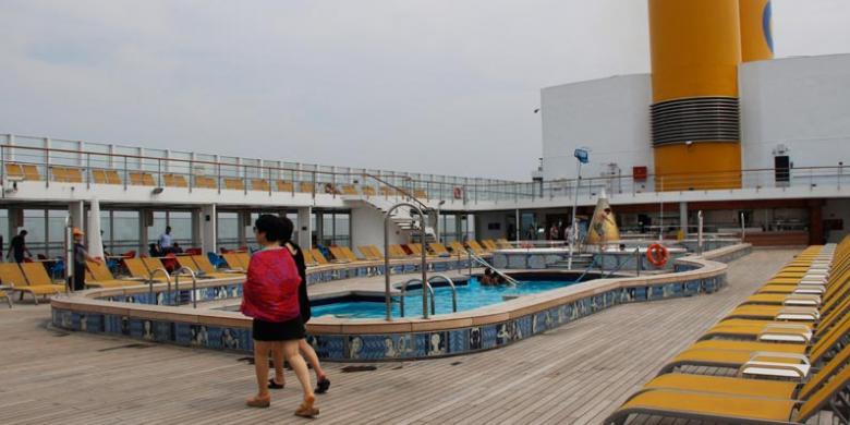 Destinasi Wisata Kapal Pesiar Ini Diminati Orang Indonesia