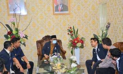 Usai pelantikan Badan Pengurus Daerah (BPD) Himpunan Pengusaha Muda Indonesia (HIPMI) (Sumbar), Wali Kota Padang langsung menjamu