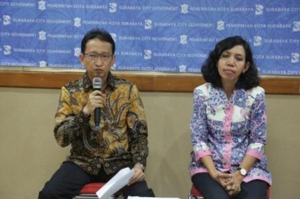 Ketua Pengurus YKP sekaligus Kepala Dinas Pengelolaan Bangunan dan Tanah (DPBT) Kota Surabaya, Maria Theresia Ekawati Rahayu