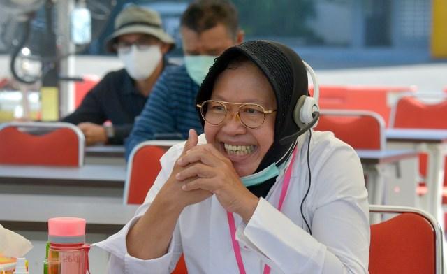 Wali Koota Surabaya membongkar cara mengefektifkan ASN dilingkungan Pemkot Surabaya saat menjadi Pemateri Lemhanas