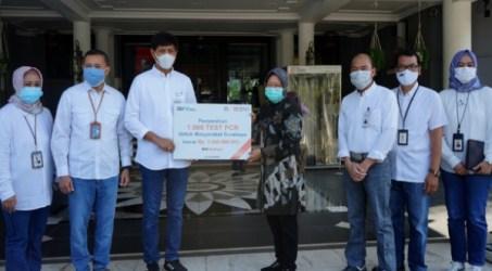 Bantu Cegah Penyebaran Covid-19, BNI Berikan 1.016 Test PCR ke Pemkot Surabaya