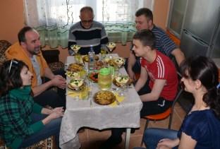Bei Iwan zuhause