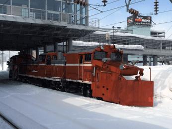 DE15除雪車 小樽築港