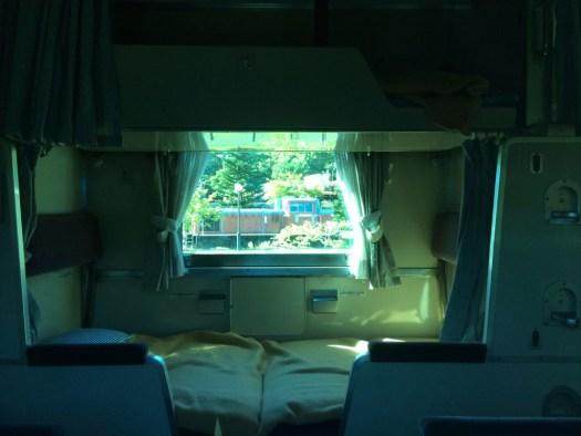小樽市総合博物館 マニ30車内寝台