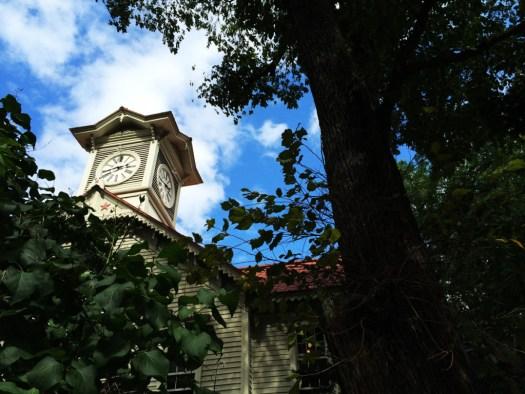 イメージ通りの札幌市時計台