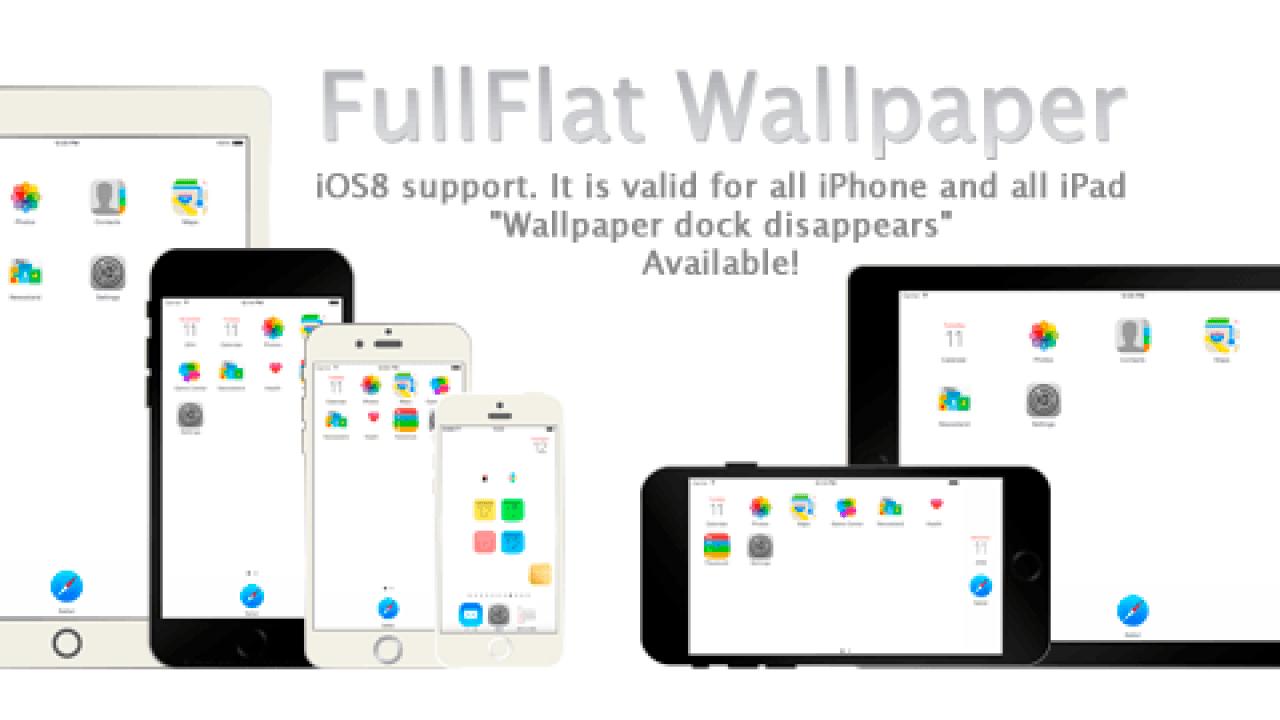 Ios8 9 10 2 Ios11対応ドックが消える壁紙 Fullflat Pure White Wallpaper リリースしました Iphone全機種とiphone8 8 Plus Ipad対応 Ios Calendar Blog