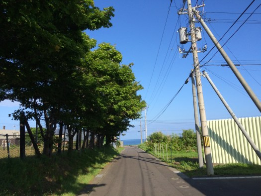 阿分から日本海