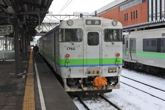 925D キハ40 1762 岩見沢から滝川まで乗車します。