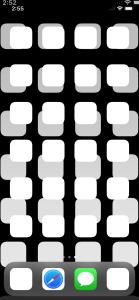 iPhone X スクリーンショットから拡大率を計算