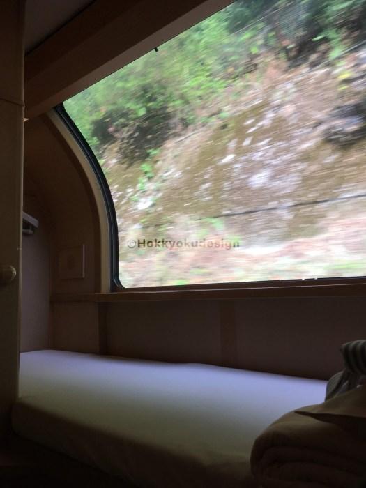 サンライズ・B寝台個室「ソロ」上段
