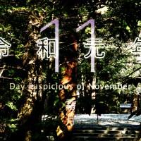 2019年、令和元年11月の暦・お日取り・縁起のいい日、良くない日