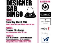 Mar 25 | Designer Bag Bingo Fundraiser for the SPHS Prom ...