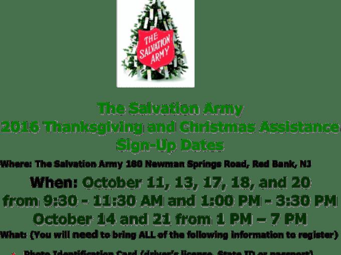 salvation army christmas help sign up 2017 christmaswalls co